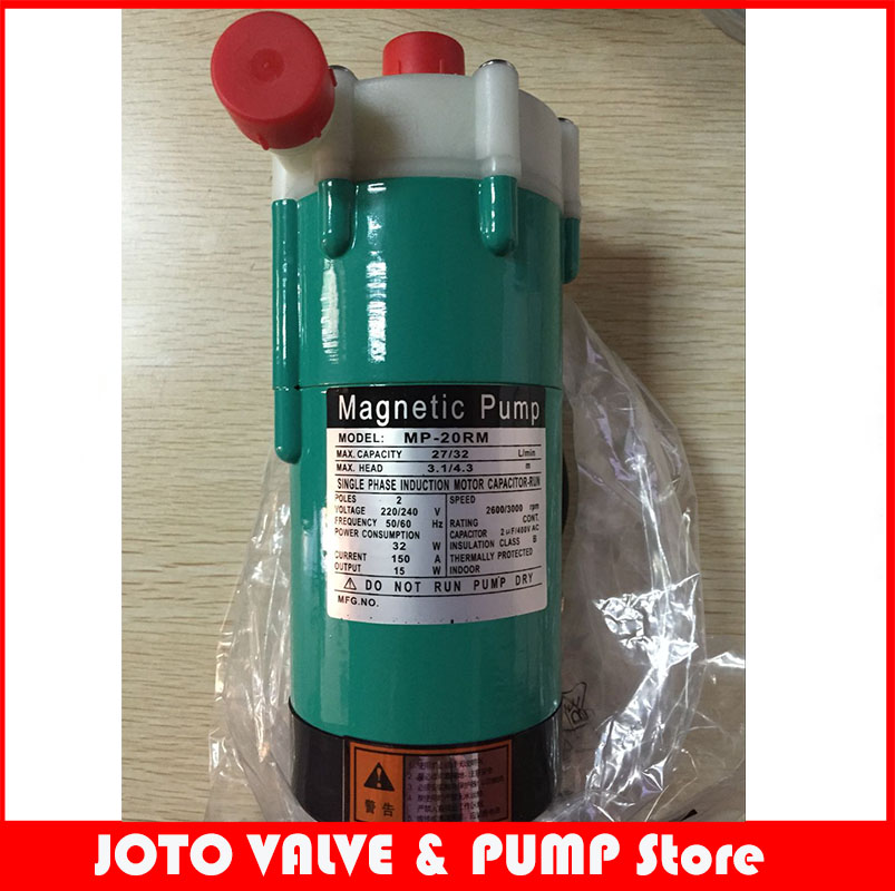 15w MP-20R 110V Magnetic Drive Ring Chemical Pump In Food Industry