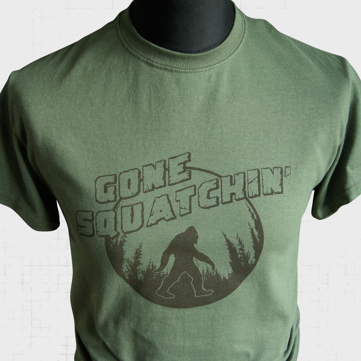 Mutli Color Forest Bigfoot Sasquatch Unisex Toddler Baby 2-Piece Short-Sleeve Bodysuit Baby T-Shirt Set