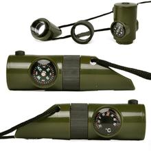 Multifunctional Military Survival Kit 7 in 1