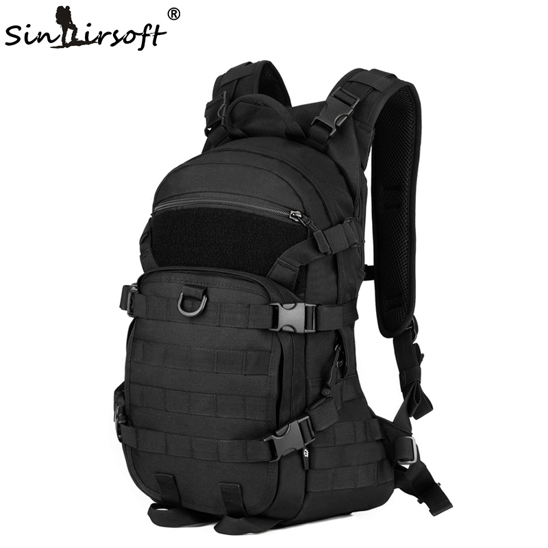 Gift! SINAIRSOFT Outdoor Military Tactical Backpack Trekking Sport Travel 25L Nylon Camping Hiking Camouflage Bag 2018 a outdoor sports tactical backpack camping men s military bag nylon for cycling hiking climbing trekking camouflage bag