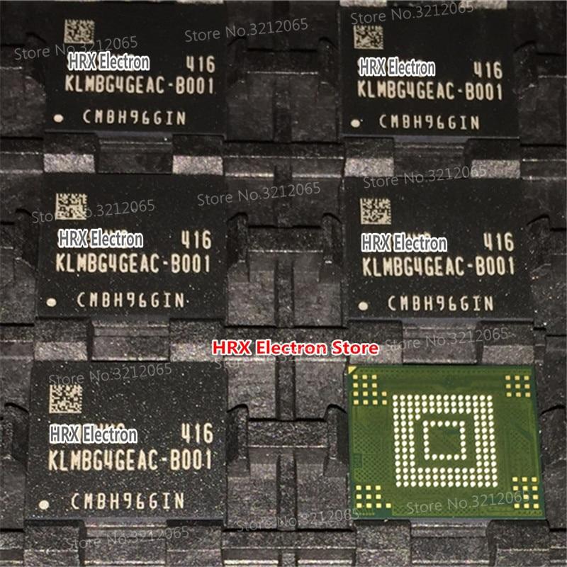 100% New Original KLMBG4GEAC-B001 EMMC BGA KLMBG4GEAC B001 1pcs 2pcs 5pcs 10pcs 100% new original klmdgageac b001 bga 128gb emmc tablet or mobile storage chip klmdgageac b001