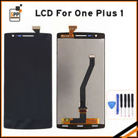 AAA LCD Screen For Oneplus One Plus 1 LCD Display Touch Panel Digitizer Complete Assembly Repair