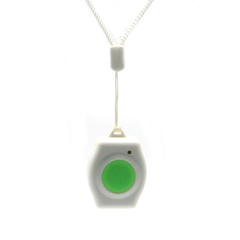 gsm guard s120 - Necklace Type Style Waterproof Wireless Panic Button SOS Button KingPigeon 433.92MHz For A10/A11 GSM Elderly Guarder EM-60