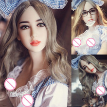 Full Body Love Robot Dolls Realistic Pussy Ass Vaginal sex 158cm Lifelike real silicone Sex Doll Skeleton Sexy Toys for Male