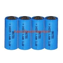 4 шт. 3,6 В 2/3AA ER14335 14335 liSOCL2 литиевая батарея 1600 мАч PCL сухая Первичная батарея Замена для TADIRAN TL-4955