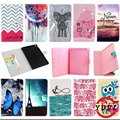 For ipad air2 PU Leather Flip Stand Case Cover For Apple iPad Air 2/iPad 6 (2014) e-book style Tablet bags with card slot M4D69D