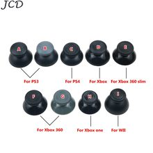 JCD 1Pair=2PCS Analog Joystick thumb grip Cap for Sony PS3 PS4 for Xbox 360/One for WII joypad Controller(China)