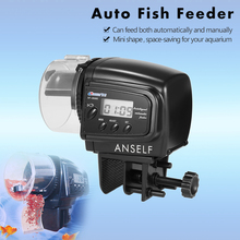 Auto Fish Feeder Digital LCD Automatic Aquarium Tank Auto Fish Feeder Timer Automatic Fish Feeder Dispenser Aquarium Fish Feed