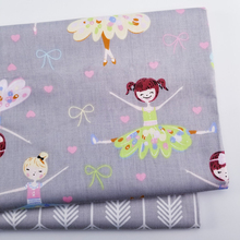 Printed Twill Cotton Fabric Patchwork Textile Cotton Cloth Handmade DIY Sewing Fabric Baby&Kids Clothing Cotton Fabric