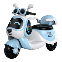 Children's electric motorcycle tricycle 1 6 years old rechargeable boys and girls baby toys can seat people remote control