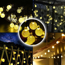 30 LED Solar Light Outdoor/Bulb/Gardenr Waterproof Solar LED String Lamp Fairy Strip Room Light Wedding Party Garden Gecoration