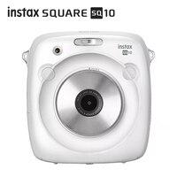 Новое поступление 2017 года 100% Подлинная Fujifilm Instax квадратный SQ10 Гибридный мгновенный fim фото Камера черный Цвет
