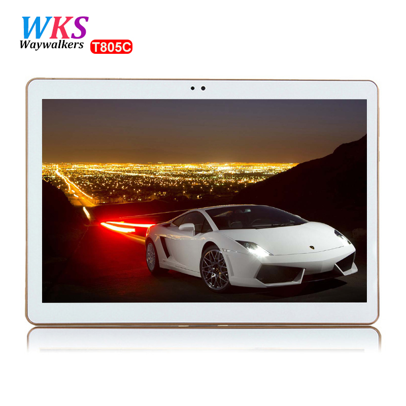 Waywalkers 10.1 inch Smart tablet pc Octa core RAM 4G ROM 64GB Android 5.1 4G LTE call computer tablets Bluetooth GPS 1280*800 newest waywalkers tablet pc 10 1 inch tablets android 5 1 octa core 4gb ram 64gb rom 1280 800 ips 5mp gps mt6592 tablet infantil