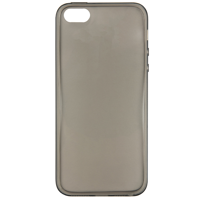 Чехол-накладка iBox Crystal для iPhone 5/5S/SE (серый)
