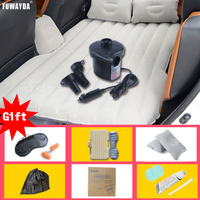 FUWAYDA Car Seat Covers Bed Mattress Inflatable Travel Party Car Bed For Back Seat Bed Cushion