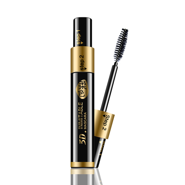 Rgxzr 3d three-dimensional lengthening thick mascara waterproof volume thick lengthening 15g large capacity