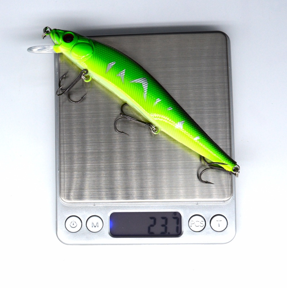 1 Stks / zak 5 kleuren 14 cm 23.7 g Vissen Lokken Minnow Hard Aas met - Visvangst - Foto 6