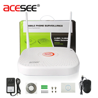 Acesee 9CH Hi3798 1080P IP WIFI NVR Home Security Camera System Wireless Surveillance Recorder Video H