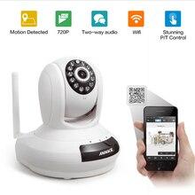 ANNKE Высокое Качество беспроводной Wi-Fi Ip-камеры Безопасности 720 P Радионяня Ночного Видения Сети 2-полосная