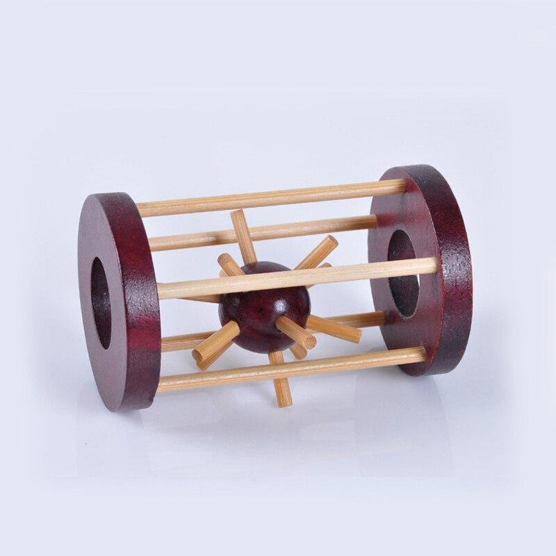 Bescheiden 1 Pc Iq Gehirn Teaser Sparen Sie Die Ball Spielzeug Kong Ming Lu Ban Codiert Lock Pädagogisches Spielzeug Kinder Erwachsene Holz Puzzle Lock Infant Geschenke