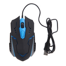 3200 DPI Professional Gaming Mouse 4 Buttons USB Wired LED Light Optical Mouse Mice for Laptop Desktops PC Gamer