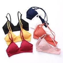 Fashion Solid Push Up Bra Sexy Lingerie Wireless Bras For Women Underwear Comfortable Wire Free Bralette