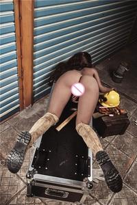 Image 5 - 163cm Plus # Anna TPE avec des poupées de sexe squelette en métal réel masturbateur vajina amour poupées poupées de sexe masculin pour les femmes vagin réaliste