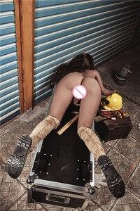 Image 5 - 163cm בתוספת # אנה TPE עם מתכת שלד מין בובות נדל און vajina אהבת בובות זכר בובות מין נשים נרתיק מציאותית