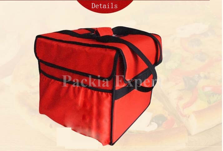 Pizza delivery bag for 7pcs 12 38*38*35CM with PPS support been heat charging cake juice hot style thermal insulation bag food delivery bag for pizza or cake or juice hot style 38 38 35cm with plywoodpizza thermal insulation bag pizza delivery bag