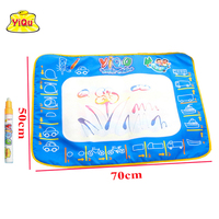 YIQU 50x70cm With 1 Magic Pen Drawing Board Water Mat Aqua Doodle Sheet Magic Water Doodle