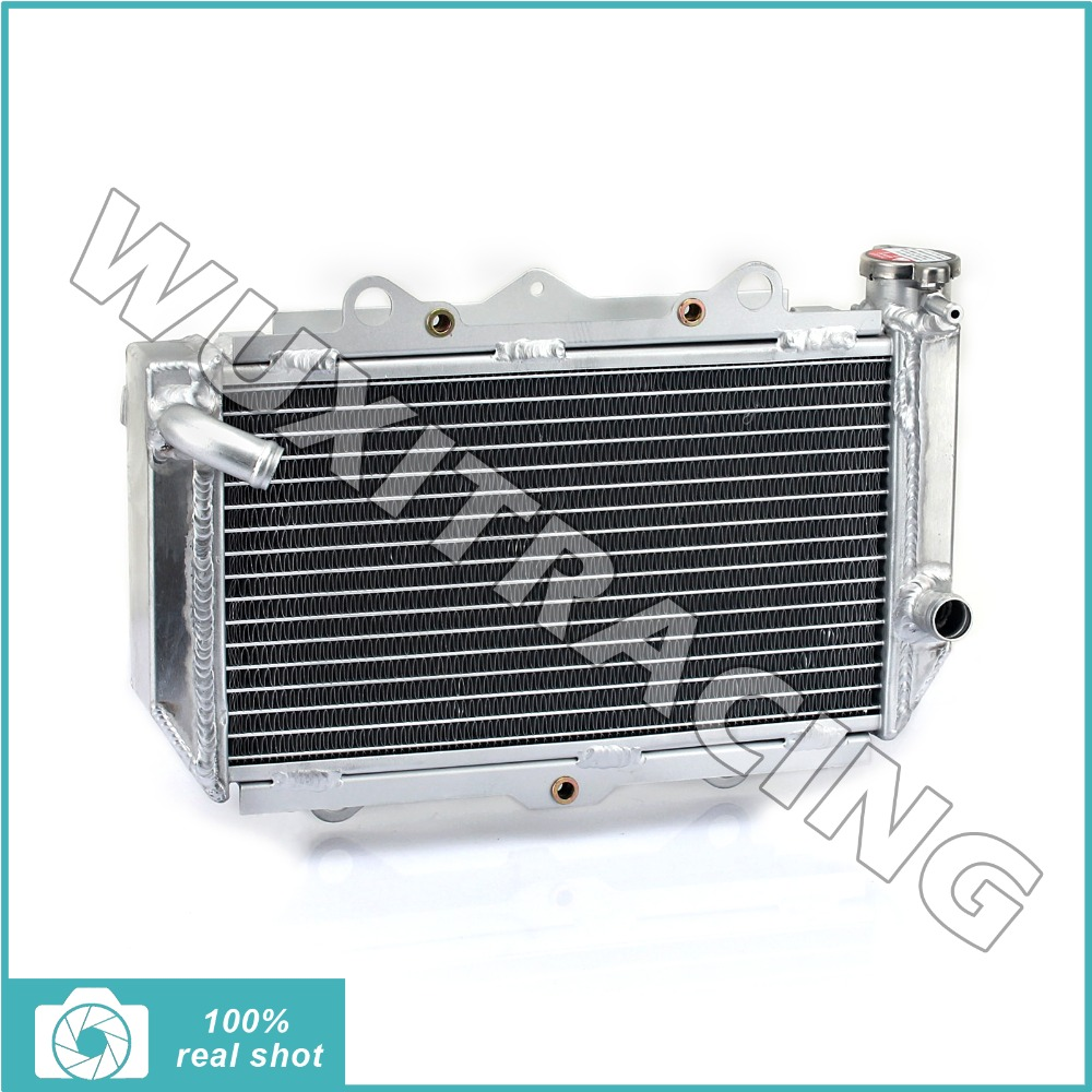Alu Core ATV Quad Dirt Bike Radiator Cooling for Yamaha YFZ 450 YFZ450 04 05 06 07 08 09 2004 2005 2006 2007 2008 2009 кронштейн фары fz600 6 fz6n 05 06 07 08 atv