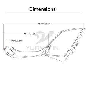 Image 4 - دراجة نارية مرآة الرؤية الخلفية مرآة الجانب مرايا 8 10 مللي متر لهوندا PCX 125 150 MSX125 MSX 125 NC750X NC750 NC700S/X CBR 600 CB400