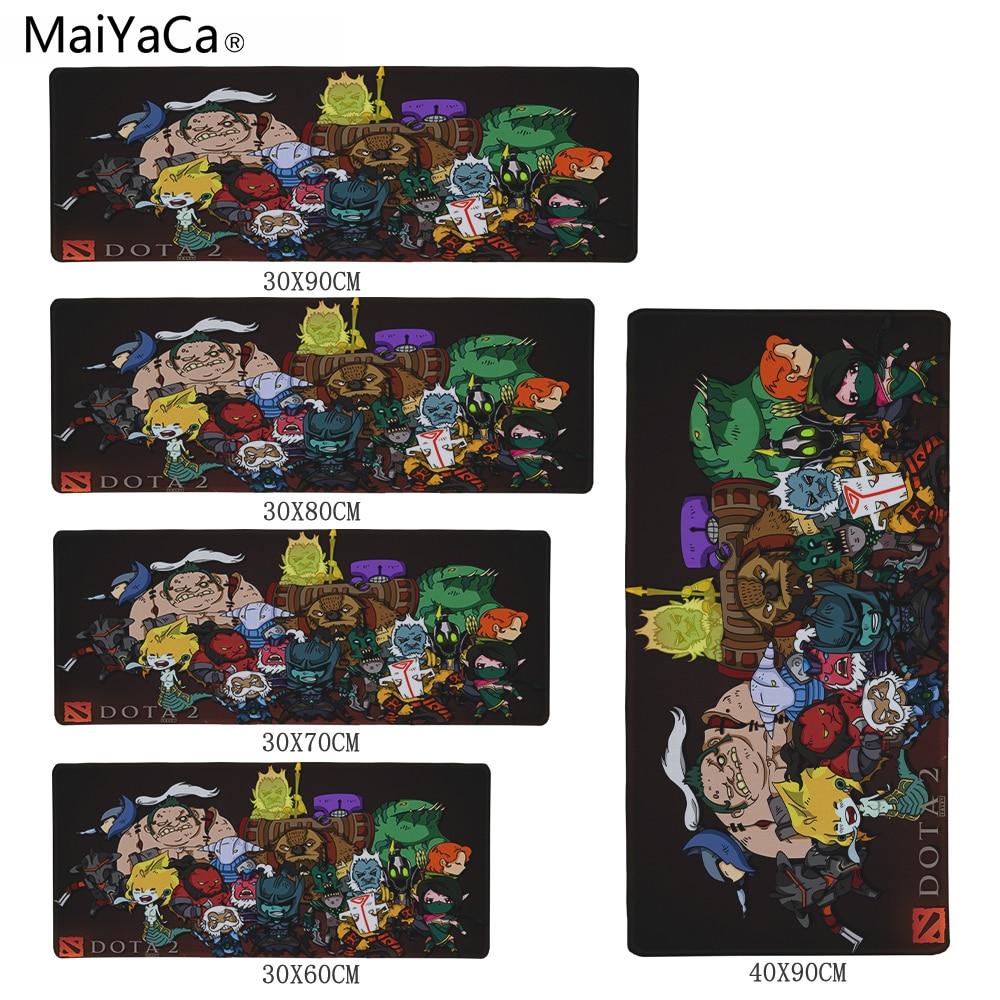 MaiYaCa Print Locking Edge Rubber Mousepads Mice Mat DIY Design Pattern Computer Gaming Cloud Speed Mouse Pad For Dota 2