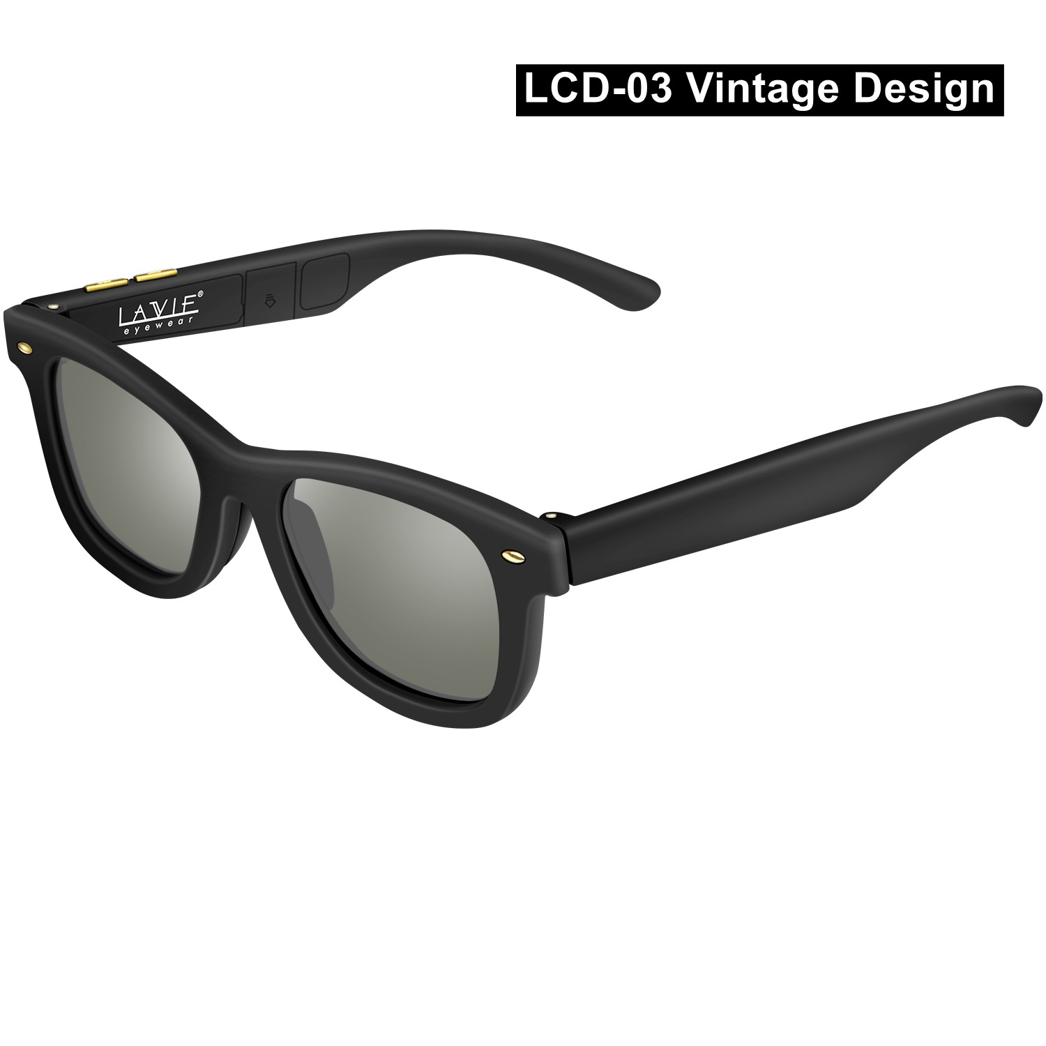Image 3 - Electronic Adjustable Dimming Sunglasses LCD Original Design Liquid Crystal Polarized Lenses Factory Direct Supply Drop Shipping-in Men's Sunglasses from Apparel Accessories