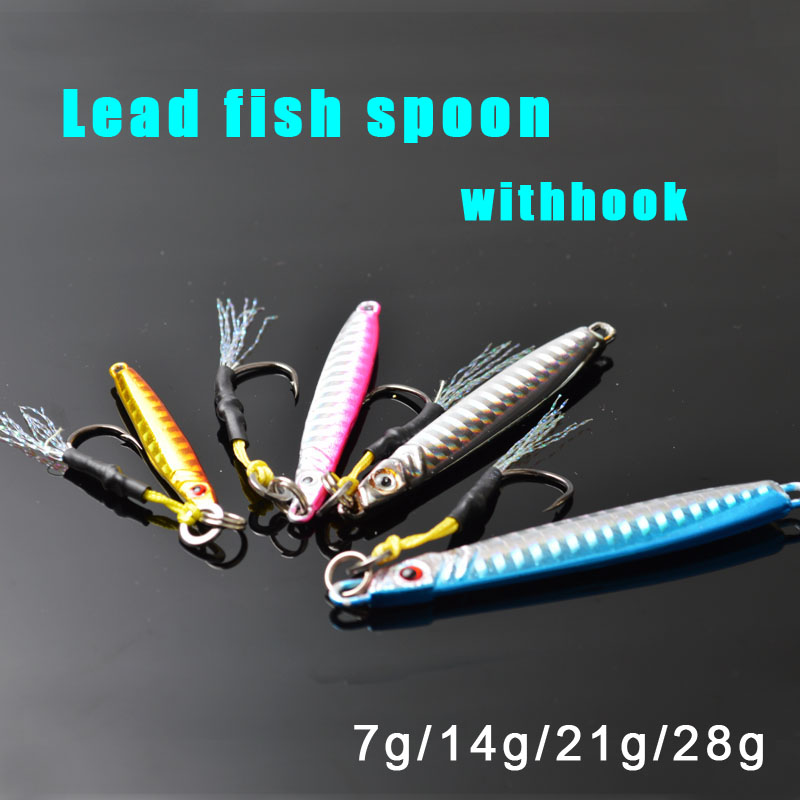 TOMA 4PCS High Quality Metal Jigging Spoon 3D Eyes Artificial Bait sea Fishing Jig Lures Super Hard Lead Fish Fishing Lures jsm 10pcs plastic hard squid jig lures sea fishing artificial squid jigs bait wood shrimp squid jigging lures fishing hook