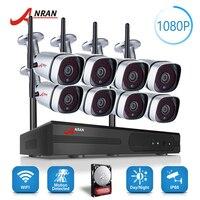 ANRAN Plug Play P2P 1080P 8CH WIFI NVR Kit Outdoor 36 IR Day Night Video 2