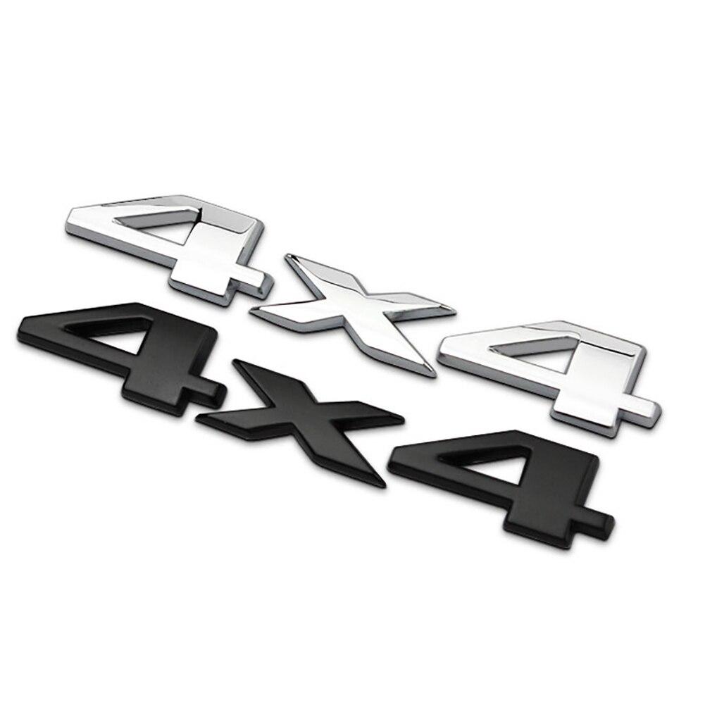3d-эмблема 4x4, наклейка с логотипом для Jeep /Grand /Cherokee, черная эмблема, значок-наклейка