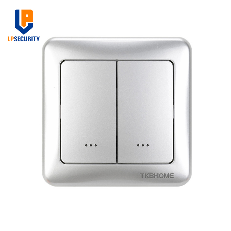 Tkb Home Z Wave Plus Dual Wall On Off Switch Module With