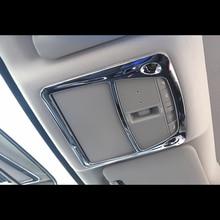 ABS Chrome Interior Dome Light Sunroof Switch Cover Trim For Nissan Sentra 2013 2014 2015 2016 2017 2018