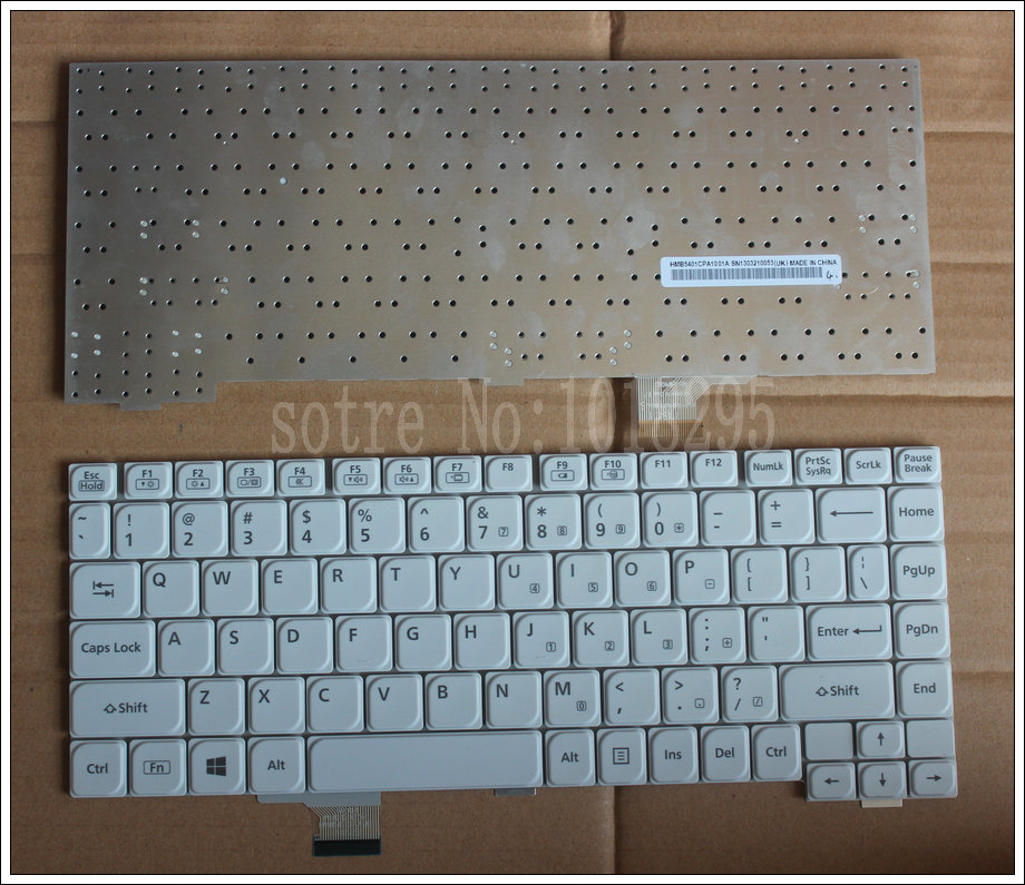New US Laptop Keyboard for Panasonic CF-LX3 keyboard HMB5401CPA0101A SN1306130002 new us laptop keyboard for panasonic cf 20 keyboard with backlight