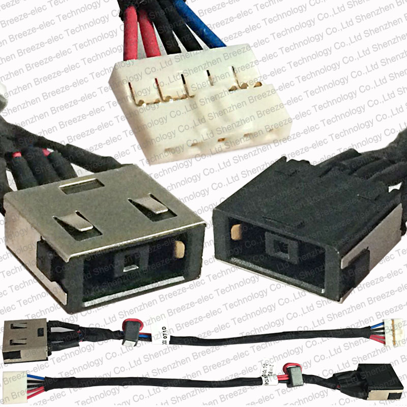 Computer Cables & Connectors Have An Inquiring Mind Original New Dc Power Jack Socket Cable Connector For Lenovo Ideapad B40 B50 N50 N40 E40 B40-30 B40-45 B40-70 B40-80 G400s G405s Lovely Luster