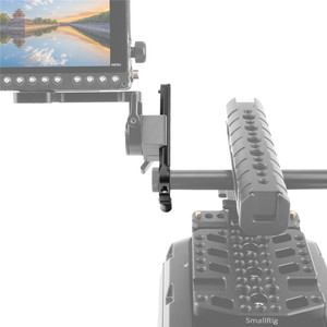 Image 5 - SmallRig Safety NATO Rail (4) with 15mm Rod Clamp For Nato Handle EVF Mount Support  1910