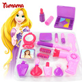 Pretend play toys niños simulación muebles salón de belleza secador de pelo conjunto de juguete niños niña de maquillaje cosmético espejo juguete determinado de la muchacha