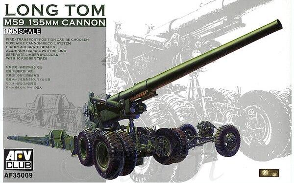 Бтт клуб AF35009 1/35 длинные том M59 155 мм пушки