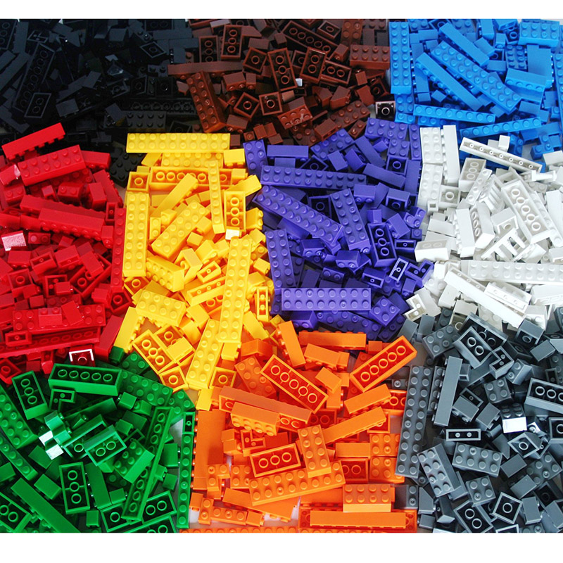1000 Pcs Building Blocks DIY Legoings City Creative Bricks Set Toy Model Educational Bulk Toys for Children Birthday Gift JM001 купить в Москве 2019