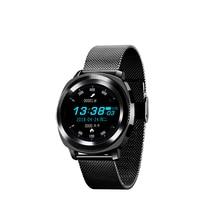 Купить с кэшбэком L2 Fashionable Smartwatch Waterproof 380Mah Steel Strap Watch IP68 Calling Heart Rate Sleep Monitor Adult Sport Smart Watch