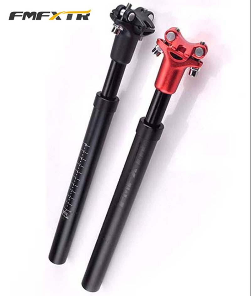 FMF Suspension Bicycle Seatpost Shock Damping Aluminum Alloy MTB Mountain Bike Seat post 27 2 30 8 31 6 350mm High Quality in Bicycle Seat Post from Sports Entertainment