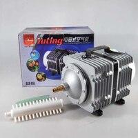 450L/мин 520 Вт SUNSUN ACO 016 Электромагнитная воздушный компрессор для Гидропоника пруд аквариума воздушный насос аквакультуры аэратор