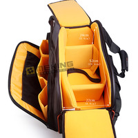Polyester Waterproof Protective Camera Bag For Canon Nikon Sony DSRL Camera Photography Video Collection Camcorder Hard