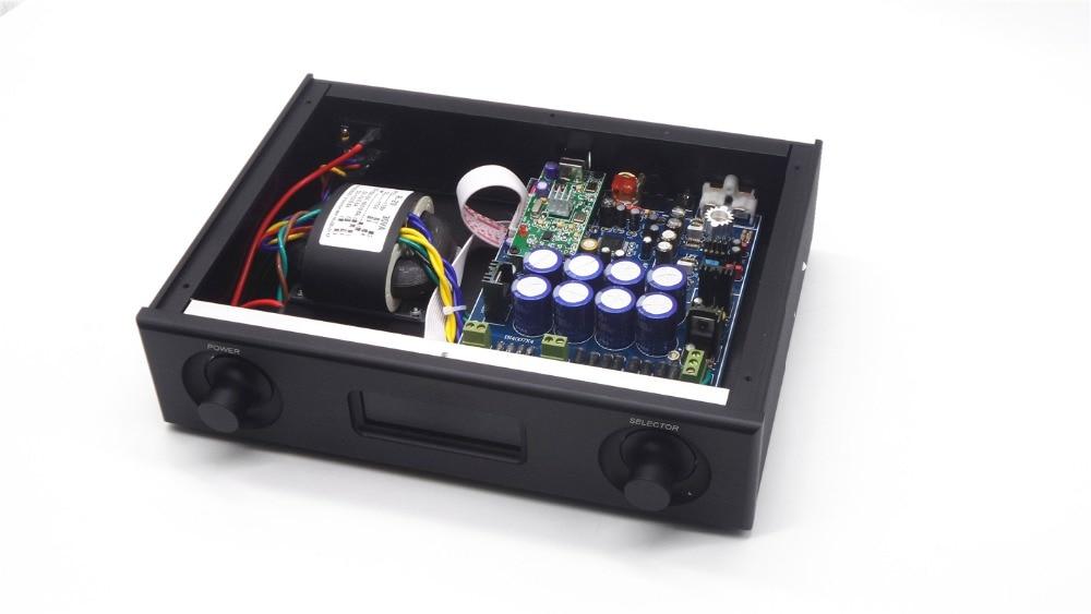 Breeze Audio top DAC chip AK4495SEQ USB DAC Audio decoder Supports coaxial fiber input AK4118 XMOS sampling rate 196k new listing ak4497eq ak4118 balanced audio decoder dac fiber coaxial usb input support dsd silver